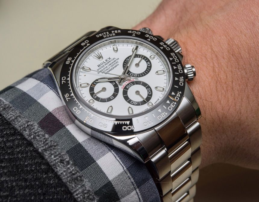 New Rolex Cosmograph Daytona Watch With Black Ceramic Bezel And