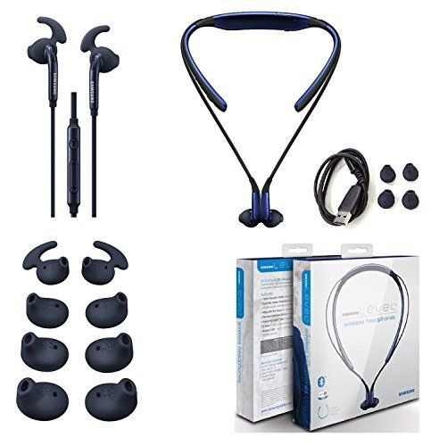 900443d9c11 Original Samsung Level U Bluetooth Headset HD Sound With Samsung Active  Headset 35mm Jack Universal with Extra Ear Gel Stylus Retail Packing **  Read more ...