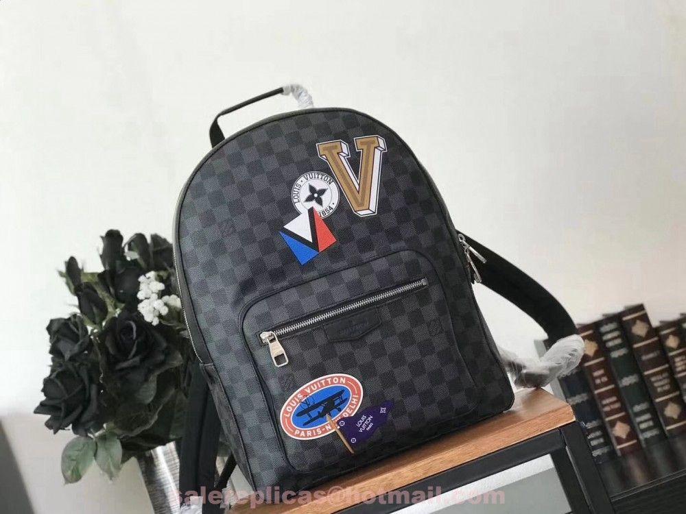 fba0160e93ba3 Replica Louis Vuitton Josh Backpack N64424