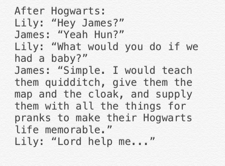 James With A Baby Harry Potter Memes Harry Potter Puns Harry Potter Headcannons