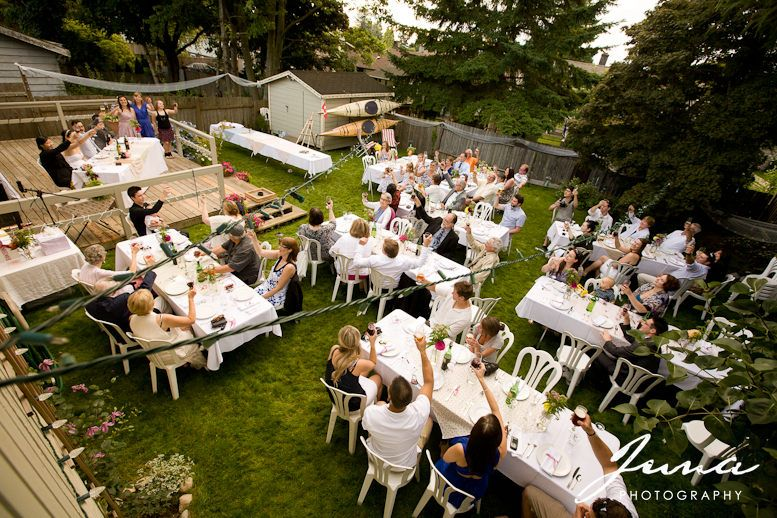 Plan A Backyard Wedding