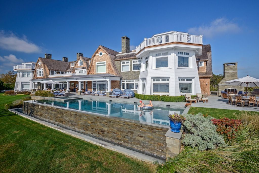 Nice Water Mill New York Estate Rose Hill Swimming Pools Dream House