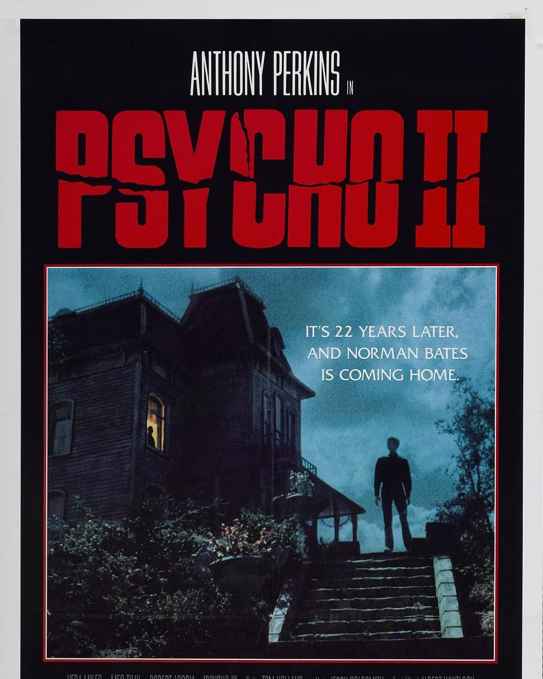 Now watching Psycho 2 22 years later Norman Bates comes home. #nowwatching #psycho2 #normanbates #anthonyperkins #alfredhitchcock #thriller #horrormovies by maximmicheal