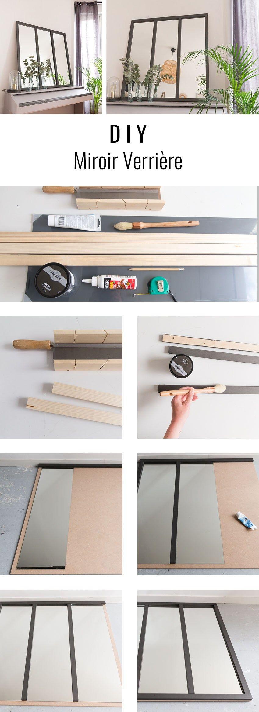 diy miroir verri re astuces deco pinterest. Black Bedroom Furniture Sets. Home Design Ideas