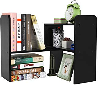 Amazon Com Desktop Book Shelves Desktop Bookshelf Office Supplies Wood Cool Desktop
