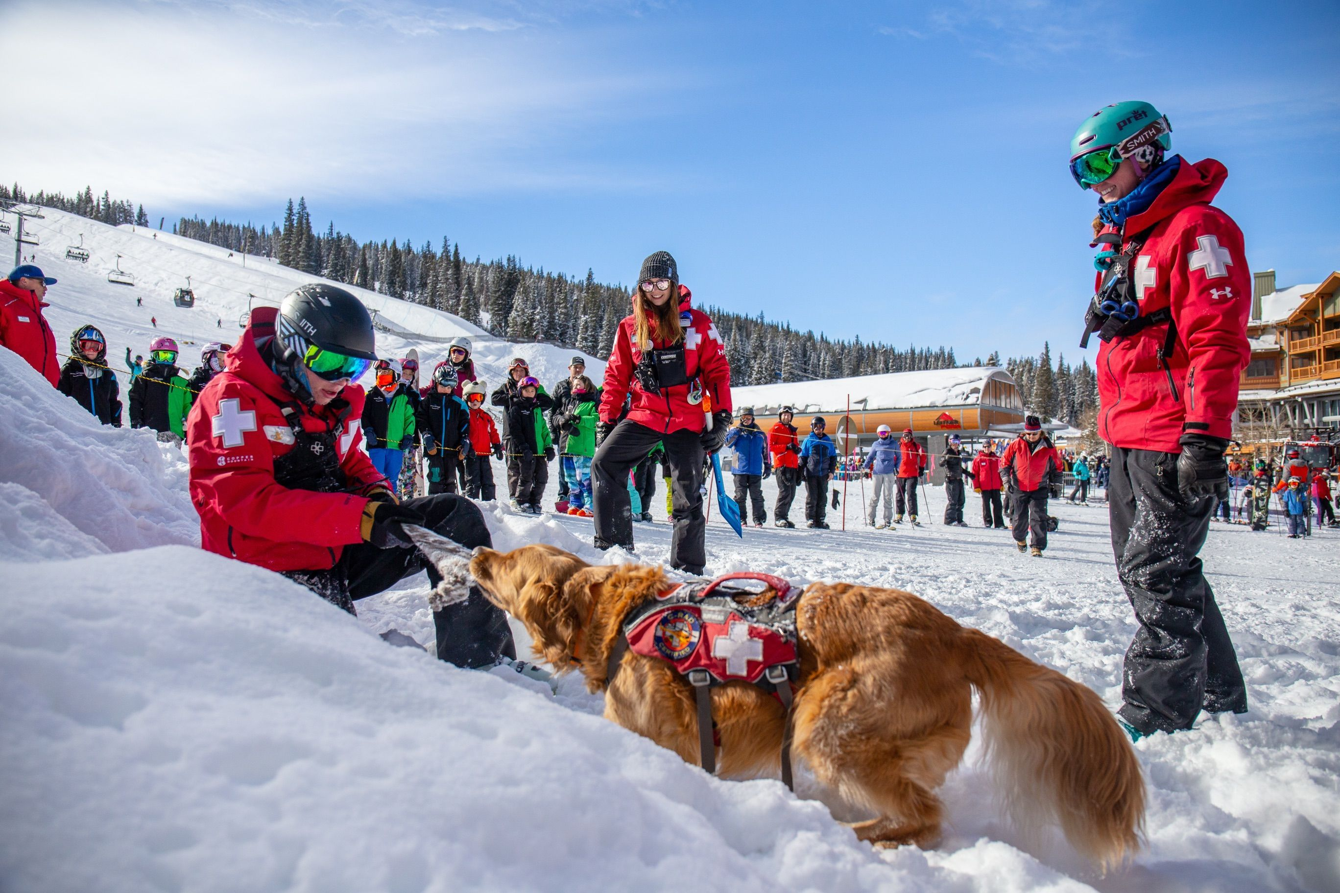 Ski Patrol Copper Mountain Colorado Safety Emt Medic Skiing Snowboarding Helicopter Training Avala Heli Skiing Copper Mountain Copper Mountain Resort