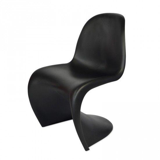 Panton Stuhl Günstig panton chair schwarz