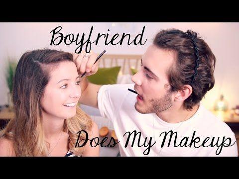 Fraja Tv Boyfriend Does My Makeup Zoella