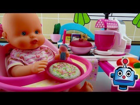 producto caliente venta caliente envío gratis Bebe Come Papilla - YouTube | mickey | Baby eating, Baby ...