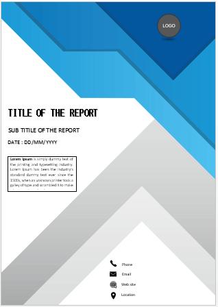 Cover Page Unique Design Cover Page Cover Pages Cover Page Template Book Cover Template Word Template Design