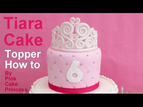 Comment Faire Une Couronne En Pâte à Sucre Fondant Crown Youtube