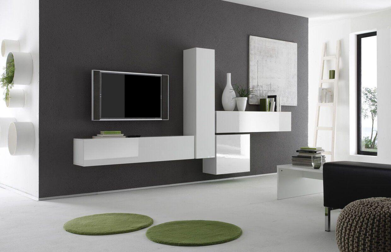 Wohnwand Bar Fur Tvs Bis Zu 70 In 2020 Wohnen Kamin Regale Und
