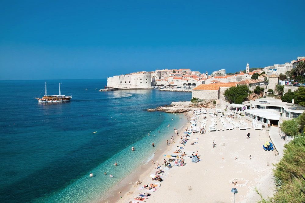 Best 10 Dubrovnik Scenes Beaches That Attract Tourists Published In Pouted Online Magazine Travel Ho Beautiful Beaches Croatia Beach Most Beautiful Beaches