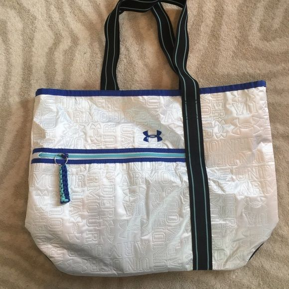 NWOT UA Open Nylon Tote Never used, no flaws or stains, 20 w X 15 h Under Armour Bags Totes