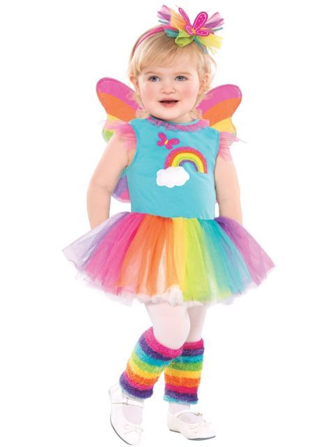 Toddler Girls Rainbow Fairy Costume - Party City ugh i love this!  sc 1 st  Pinterest & Toddler Girls Rainbow Fairy Costume - Party City ugh i love this ...