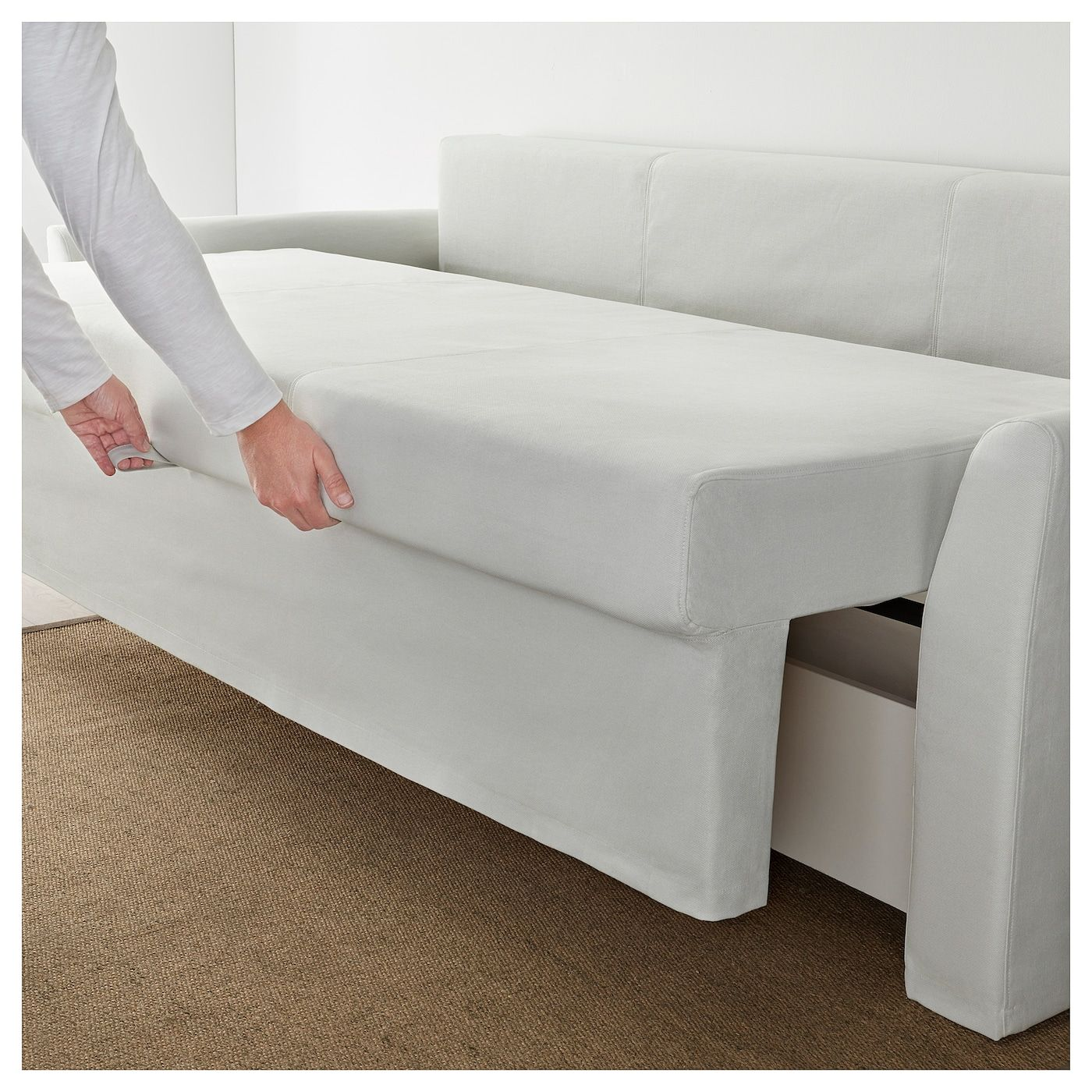 IKEA - HOLMSUND Sofa-bed in 2020 | Sofa bed for small ...