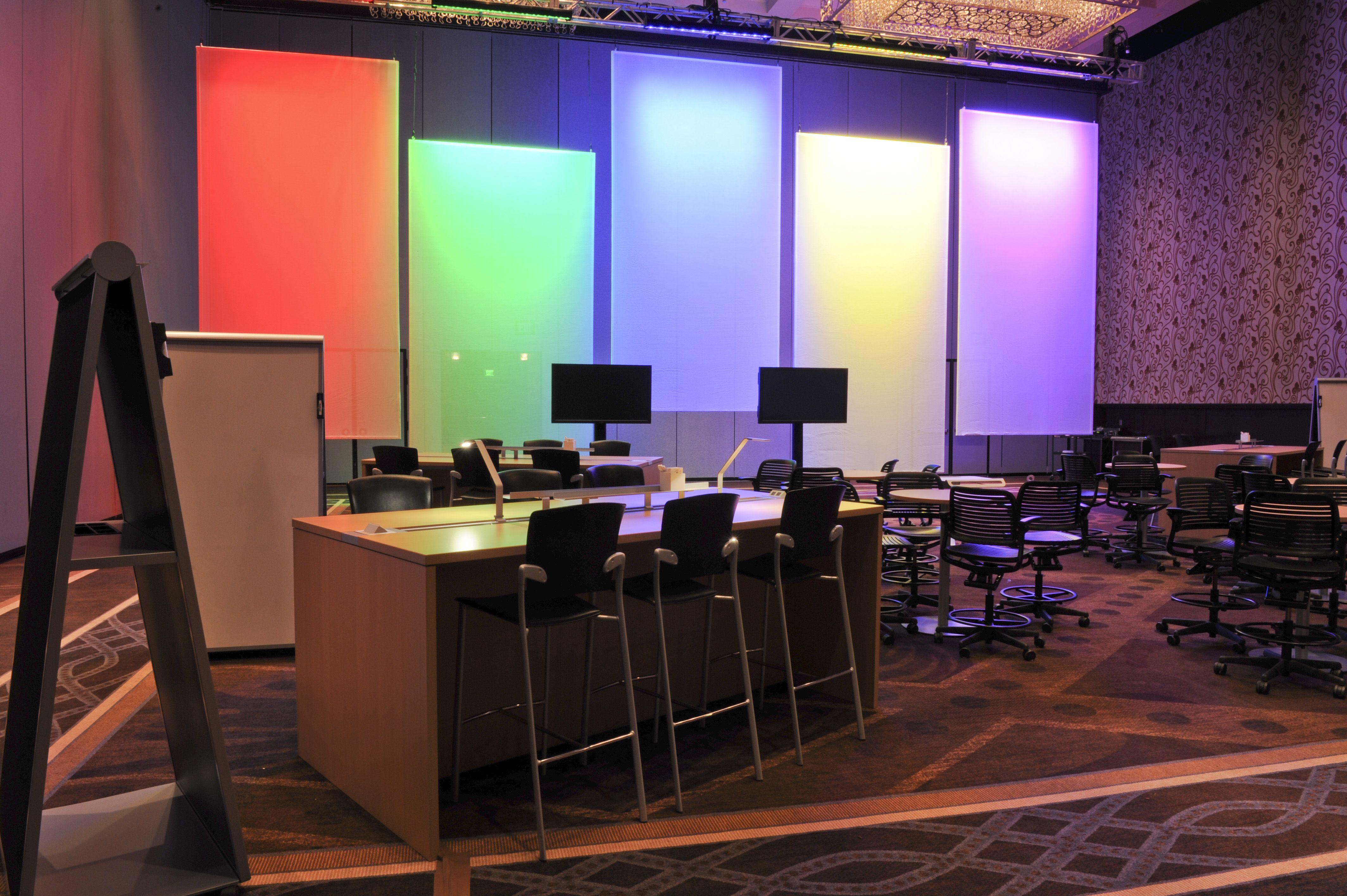 Color Spectrum Screens