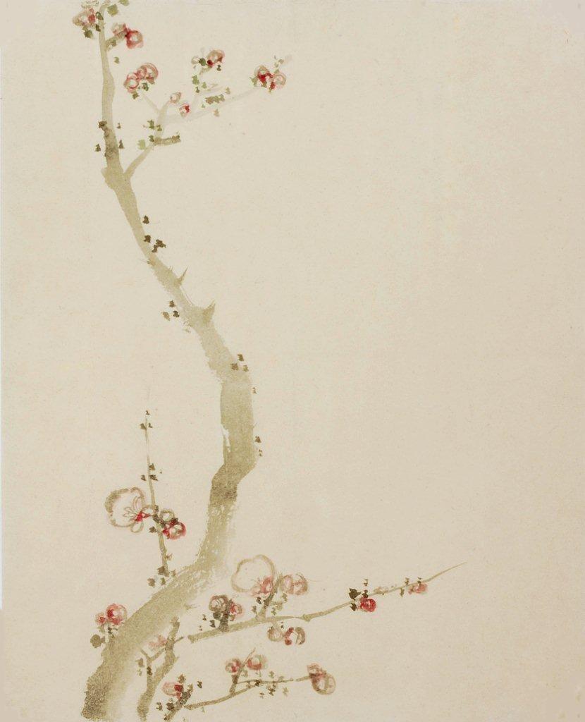 Hokusai Cherry Blossoms 日本画 日本美術 花 絵