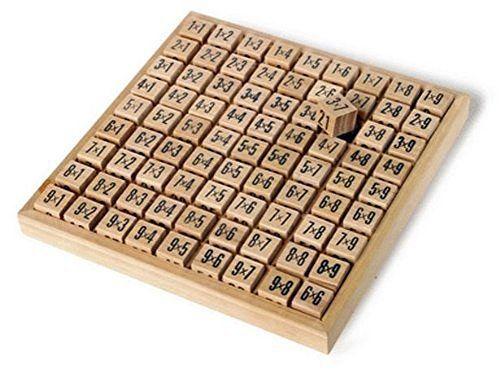 Amazing Child Montessori Small Multiplication Tables Board