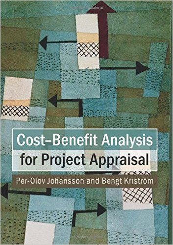 CostBenefit Analysis For Project Appraisal  PerOlov Johansson