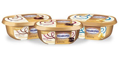 Save $0.55 on Philadelphia Indulgence Cream Cheese #coupons
