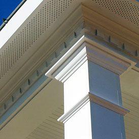 Vinyl Column Wrap Wrap N Snap For Easy Columns Porch Columns Front Porch Columns Porch Remodel