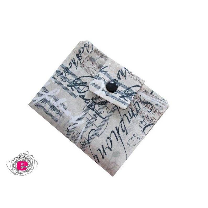 Portemonnaie Noten, Geldbörse Musik – Christine Gürth