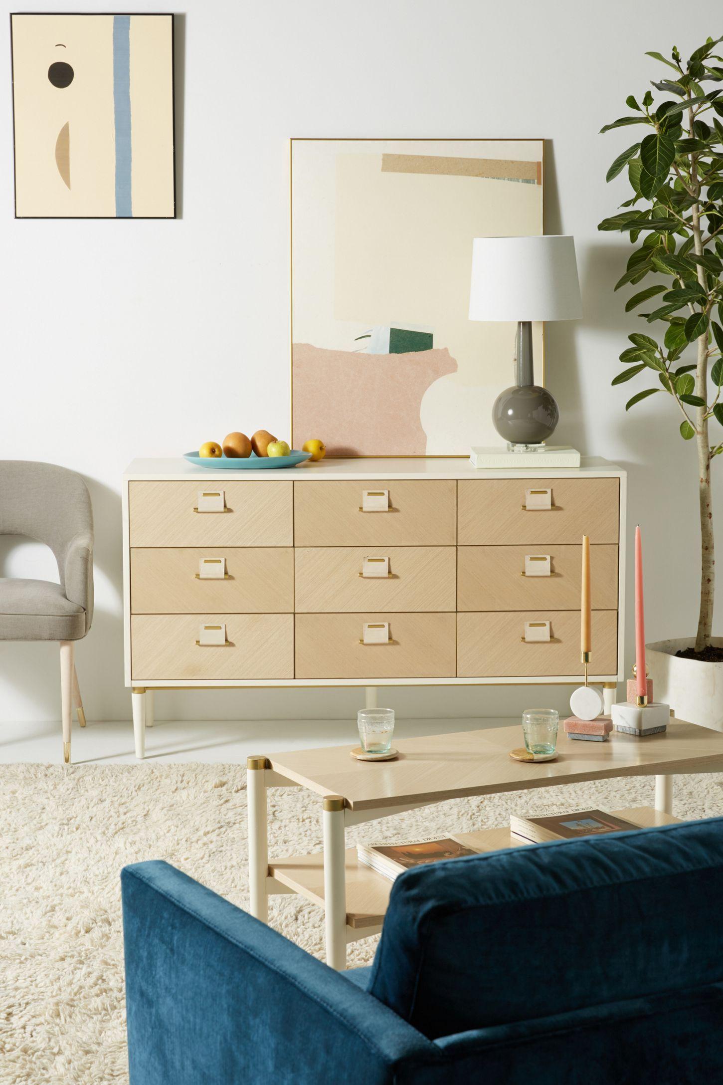 GeoMarquetry NineDrawer Dresser Unique bedroom