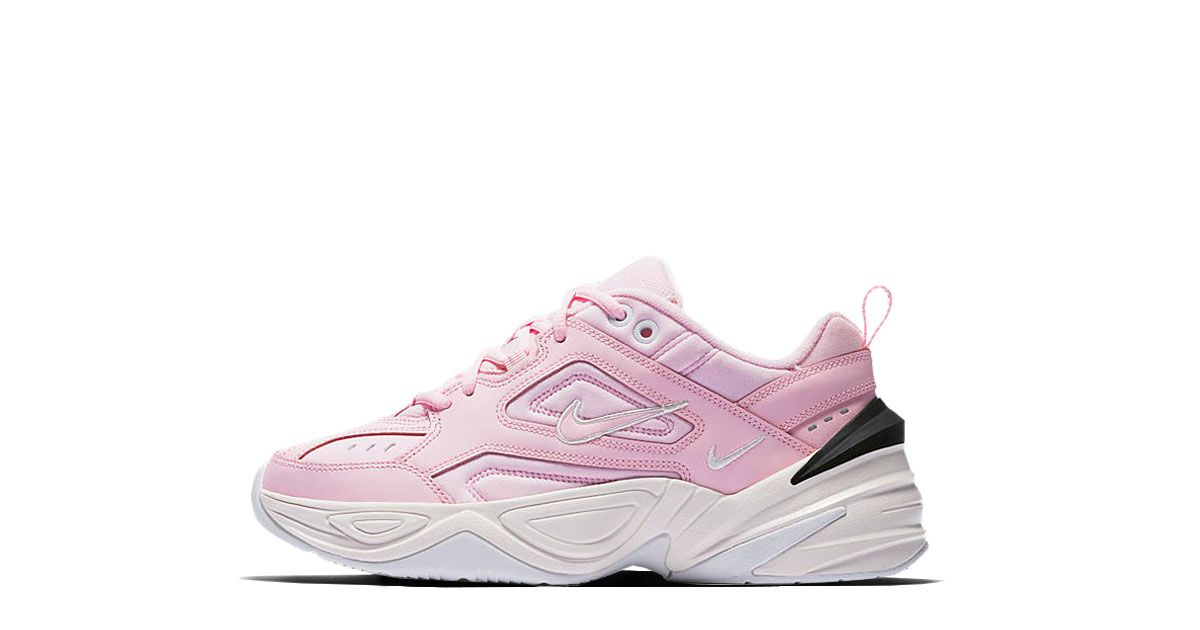 huge selection of 56e35 8b455 Nike M2K Tekno WMNS Supreme Monarch Release  05.05.2018 Colorway  Pink  Foam Black-Phantom-White Style-Code  AO3108-600