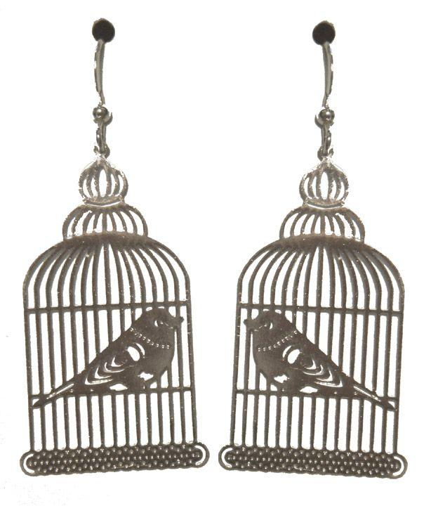 birdcage earrings   things that make me smile   Pinterest ...