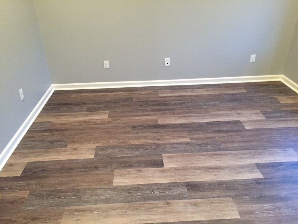 Kitchen and living room floor inspiration coretec plus 7 for Lvp flooring