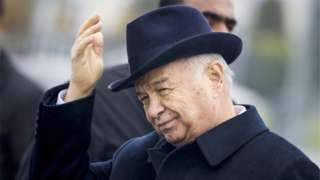 "Image copyright                  AP Image caption                                      Rumours about Islam Karimov's health are not new; the confirmation certainly is                                In Uzbekistan, information about the president's health is hidden from the public and treated like a state secret. That is why a report by the Cabinet of the Ministers confirming that Islam Karimov is ""receiving inpatient treatment&q"