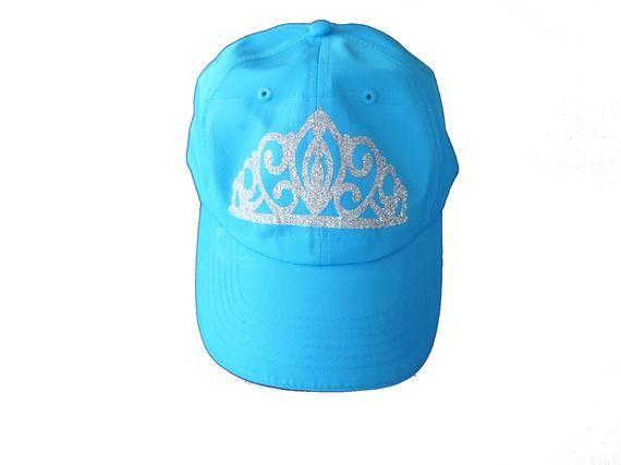 Princess Hat, Cinderella Running Hat, Princess Running Hat, Tiara Hat, Crown Hat, Cinderella Hat, Princess Crown, Queen Hat, Running Hat #queenshats