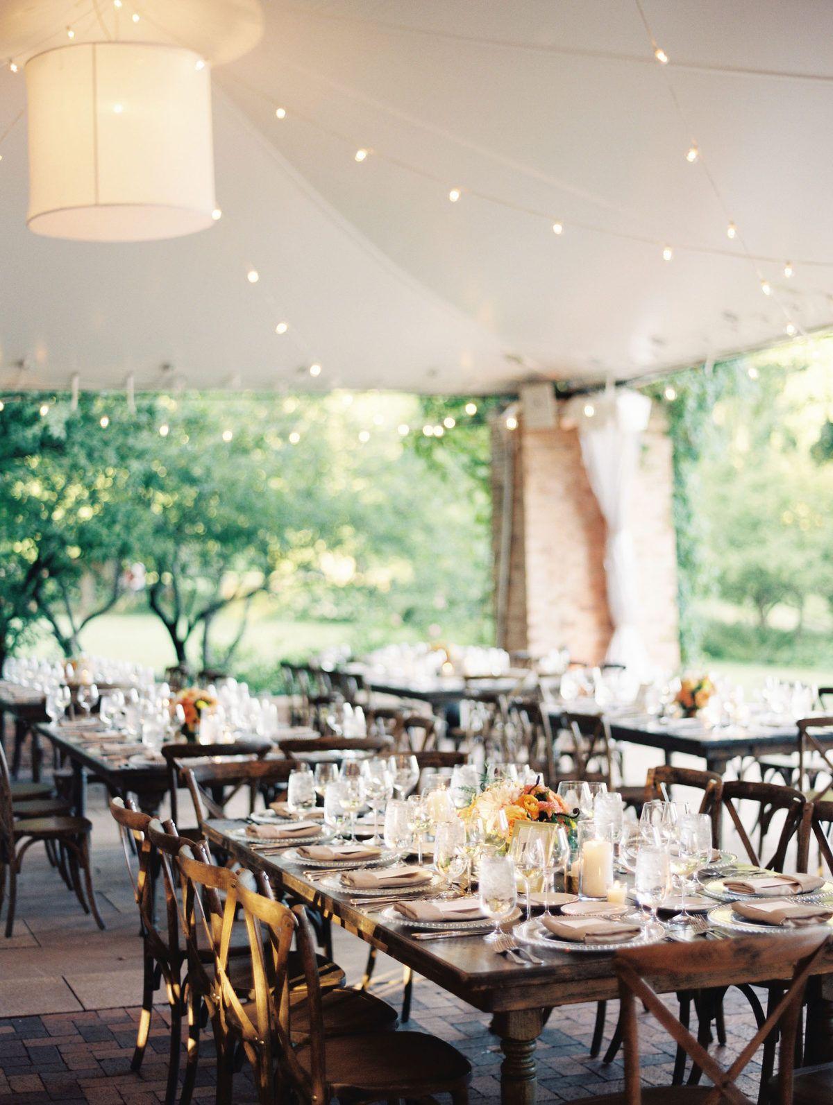 Charming Summertime Wedding at the Chicago Botanic Garden