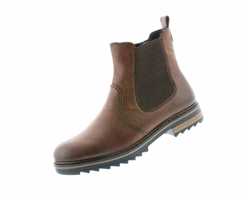 Genieße den reduzierten Preis Neues Produkt bis zu 80% sparen Rieker Damen Winter Stiefel X1473 Braun 22 warm gefüttert ...