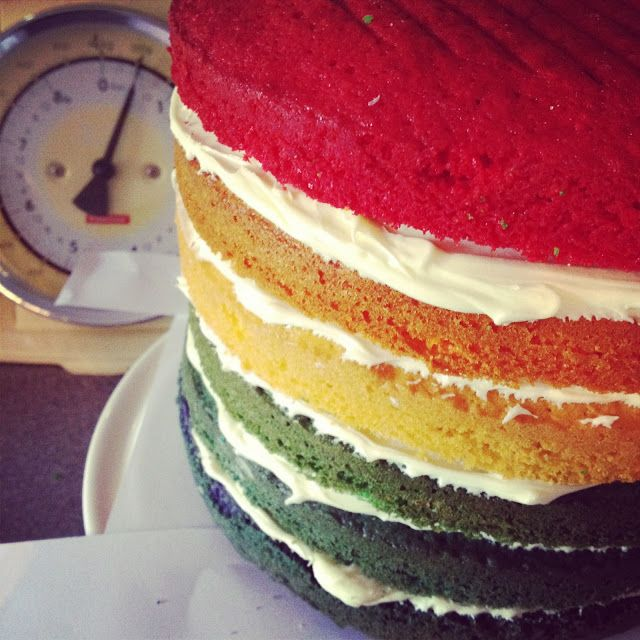 The Imagination Tree: How to Make a Rainbow Cake
