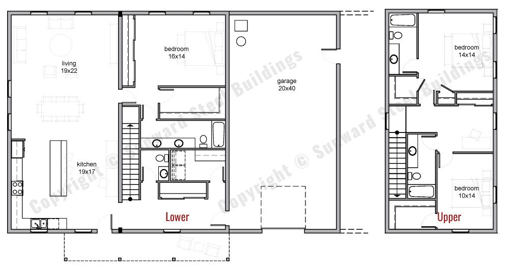 Barndominium Floor Plans Barndominium floor plans, Loft