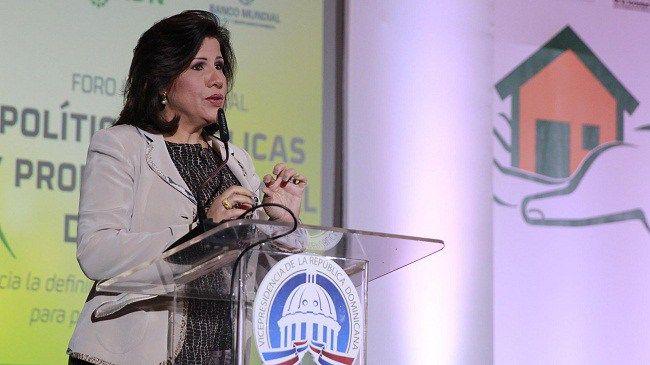 Margarita dice Gobierno sienta las bases para una política integral de vivienda incluyente
