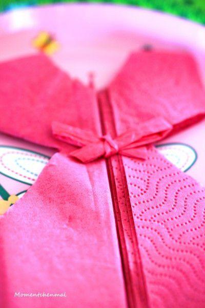 Babyparty Babygirl Mädchen Deko Servierten Kleidchen Momentchenmal Baby U0026  Mummy DIY Rosa Pink_1