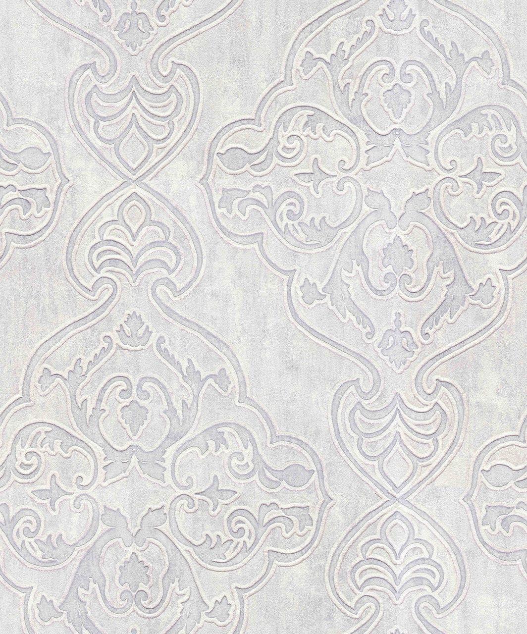 Bellissimo Vi By Brewster 2768 3201 Elena Platinum Damask Wallpaper Damask Wallpaper Grey Damask Wallpaper Brewster Wallpaper