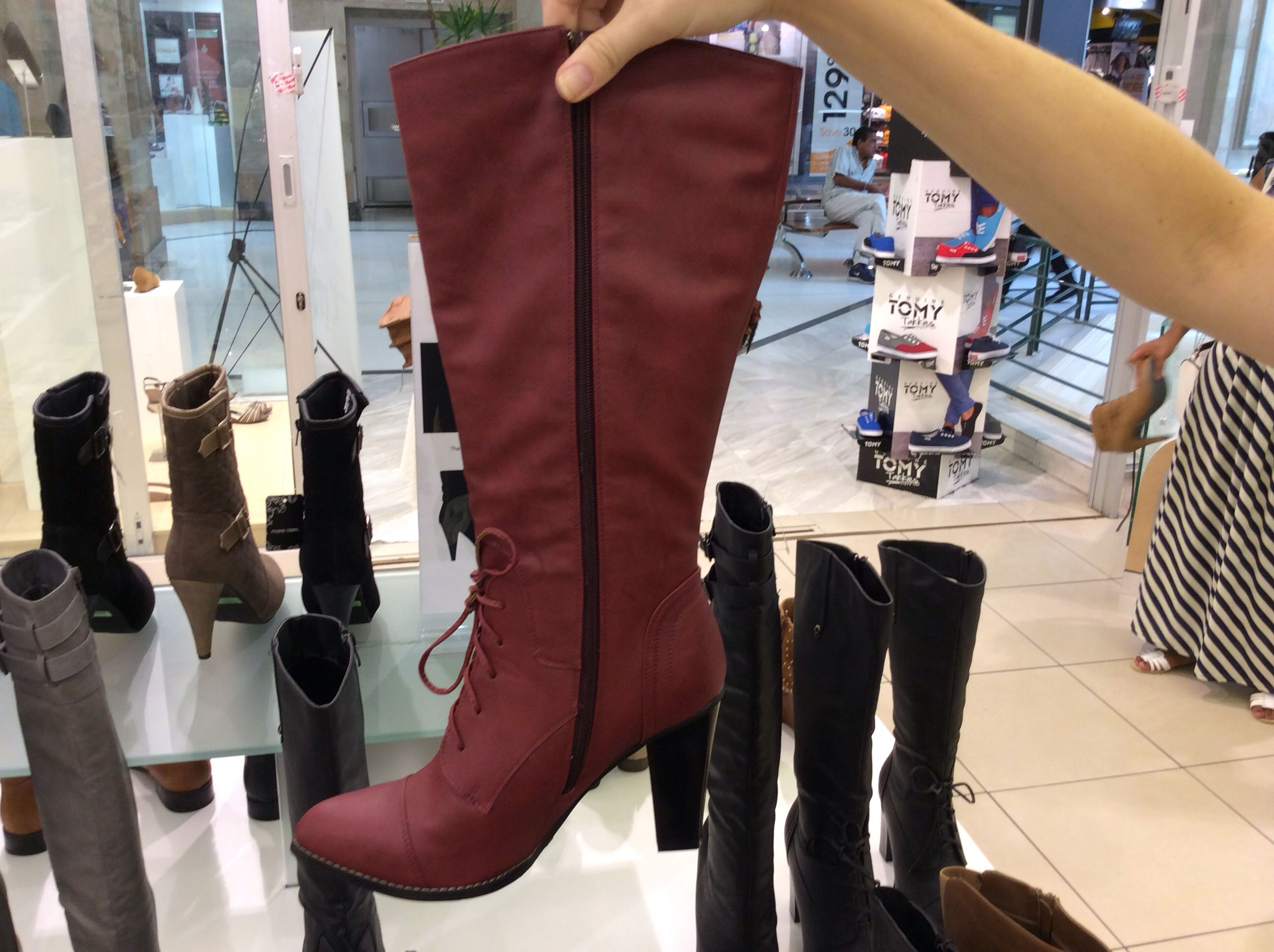 Red shoes wwe Red shoes, Riding boots, Boots