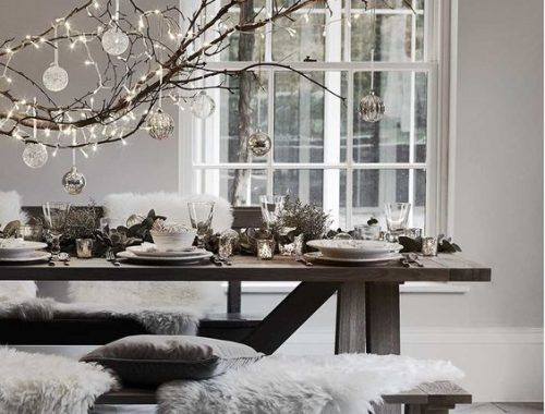 Interieur Ideeen Voor Kerst.Kerst Interieur Verlichting Kerst Tafel Decoraties Kerstafels