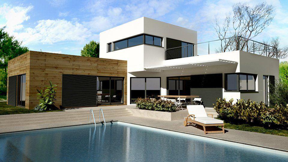 r sultat de recherche d 39 images pour maison contemporaine archi design pinterest maisons. Black Bedroom Furniture Sets. Home Design Ideas