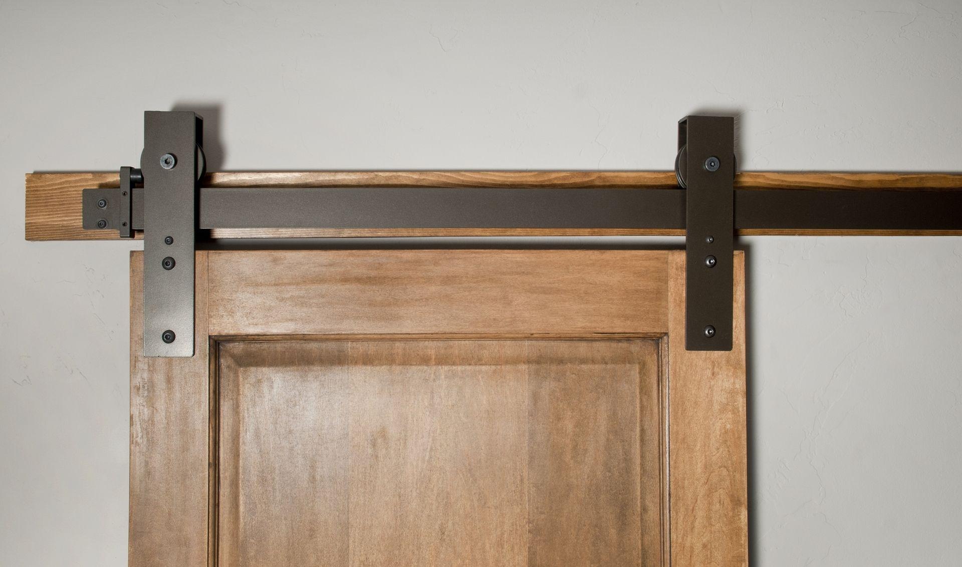 Interior Sliding Door Hardware Kit Hand Made Interior Barn Door