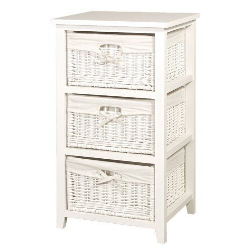 Wicker Drawers Google Search Storage Baskets White Storage Wicker Baskets Storage