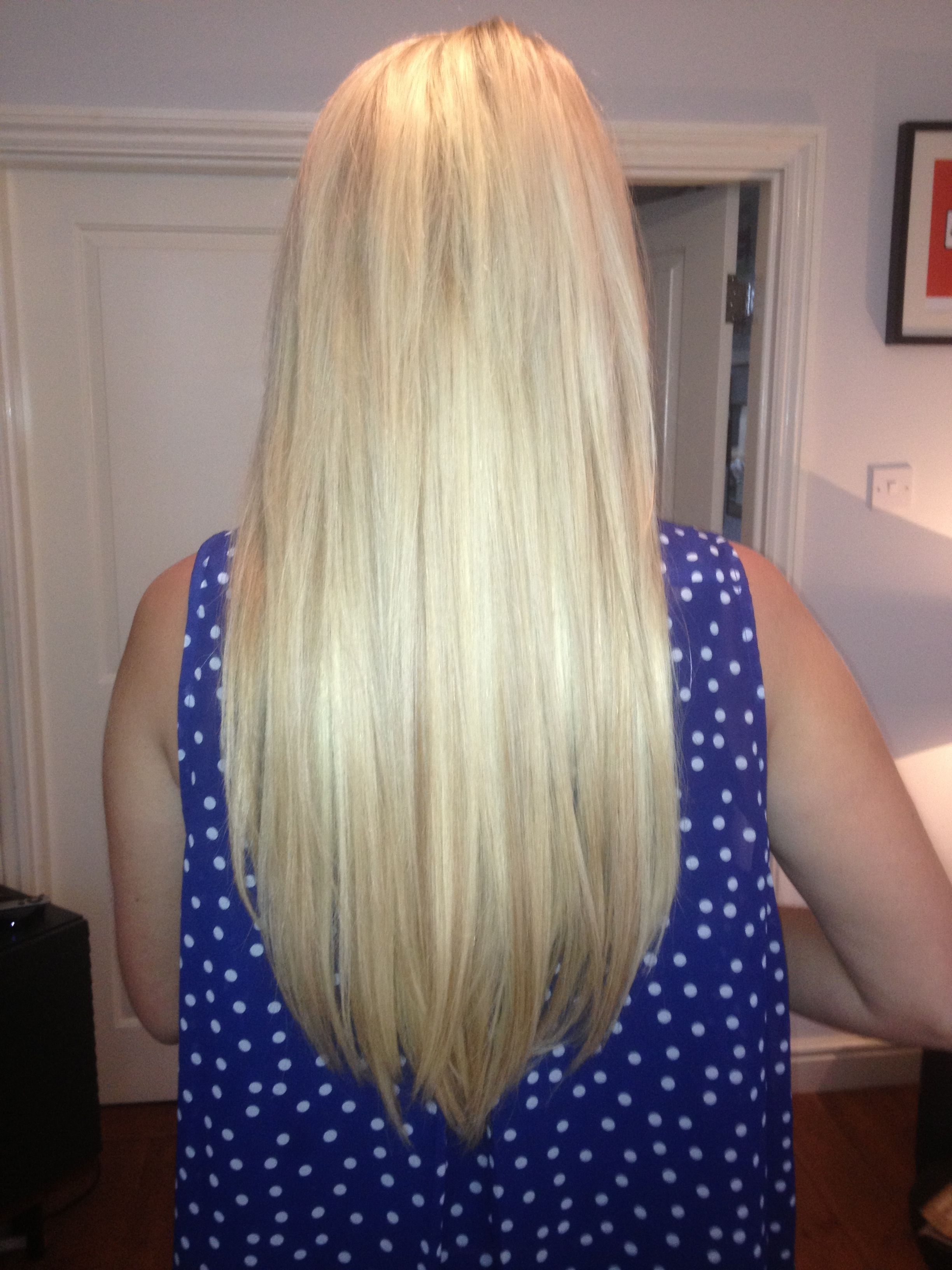 Micro Bond Hair Extensions In Californian Blonde X Paulette Elissa