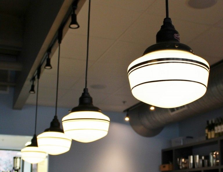 Schoolhouse Lighting A Sweet Look For Chocolate Lounge