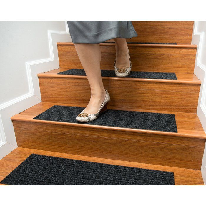 Best Bayless Charcoal Stair Tread Stair Treads Stairs 400 x 300