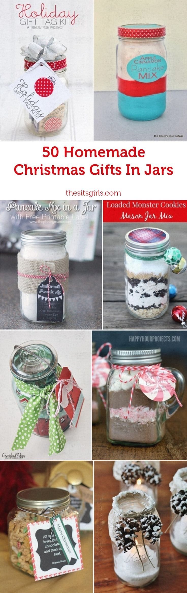 Gifts In Jars   Homemade christmas gifts, Christmas gifts and Jar