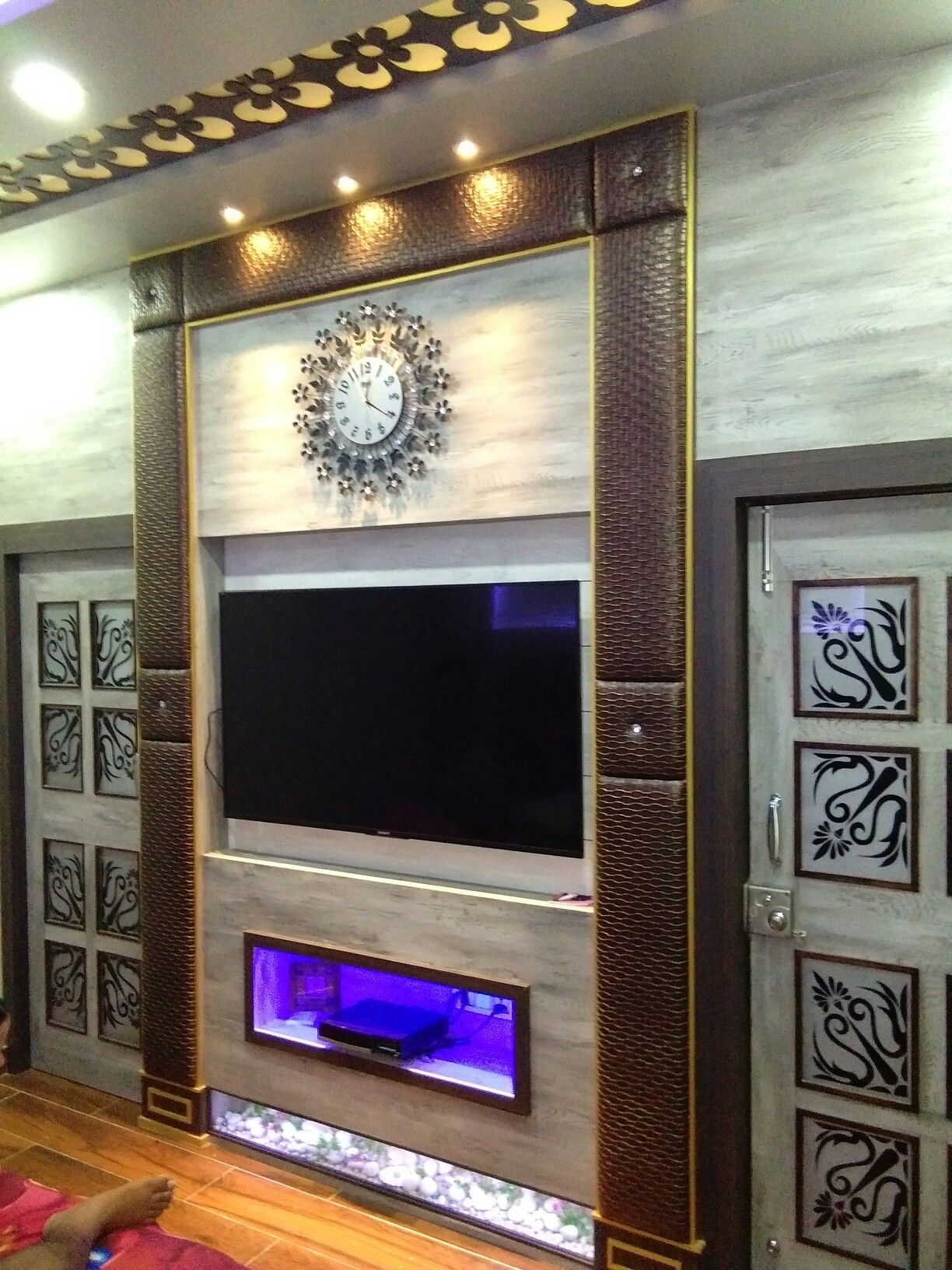Pin By Mallikarjuna On T V Cabinet: Tv Room Design, Living Room Tv
